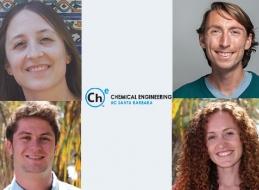 (Clockwise from top right) George Degen, Audra DeStefano, Patrick Leggieri, Candice Swift