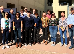 Chemical engineering graduate students
